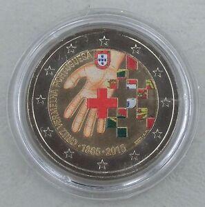 2-Euro-Portugal-2015-150-Jahre-Rotes-Kreuz-in-Farbe-unz