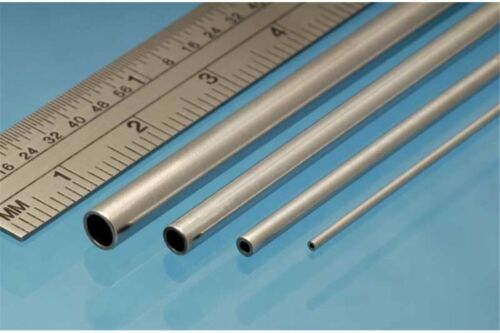 ALBION ALLOYS AT2M Aluminium Tube 2 x 0.45 mm (4p.)