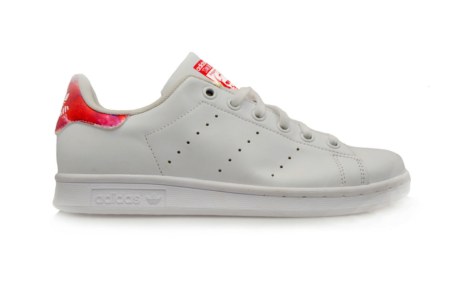 FEMMES ADIDAS STAN SMITH W - s81873 - BLANC ORANGE baskets
