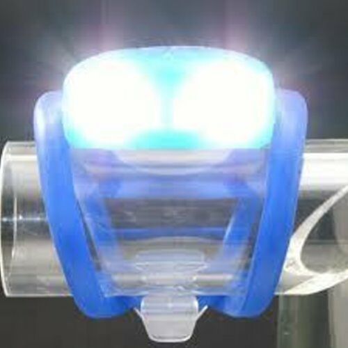 Black 817 White LED gobike88 AKSLEN SL-10 Safty Light Water Spider