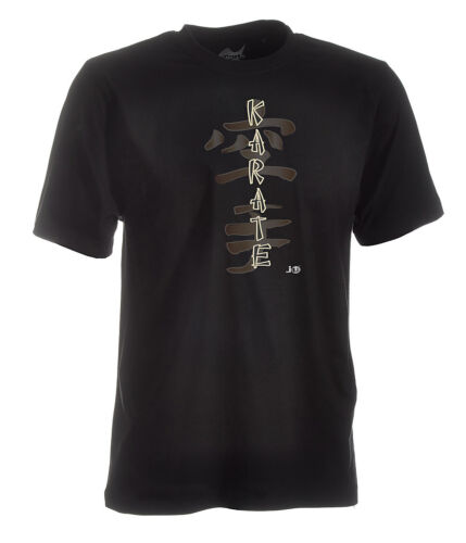 "Shotokan Karate-Shirt /""Classic/"" schwarz von Ju-Sports Karateshirt"