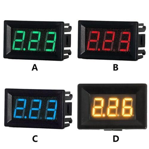 Mini 0.56in LED Digital Display DC 0-10A Ammeter Current Amp Panel Meter Gauge