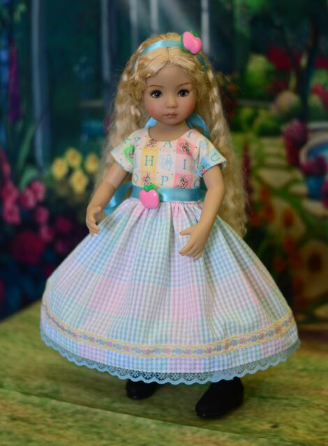 """Spring at School"" Dress, Outfit, Clothes for 13"" Dianna Effner Little Darling"