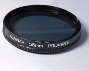 Usato Albinar 55mm Polarizzatore Pl Filtro Polar