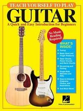 Teach Yourself to Play Guitar : A Quick and Easy Introduction for Beginners by David M. Brewster (2004, Paperback)