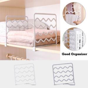 Closet-Divider-Rack-Kitchen-Bathroom-Storage-Shelf-Wardrobe-Space-Partition-GIFT