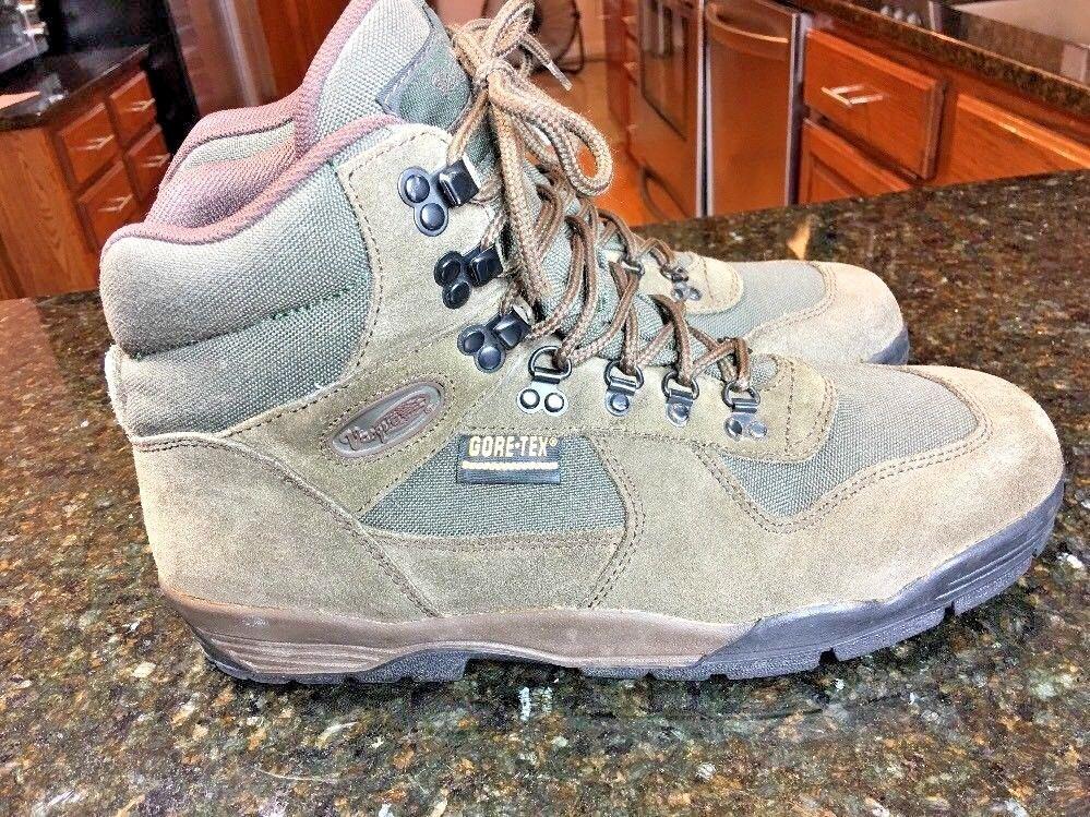 VASQUE Alpha GTX Gore Tex Size 11.5 US Mens  Brown Trail Hiking Boots