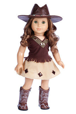 70a4d5fd965 dreamworldcollections. Cowgirl - Western Outfit for 18 inch Doll