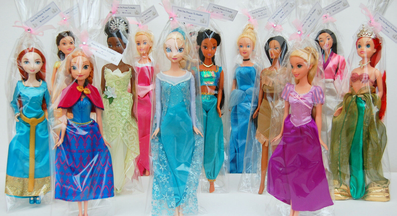 Disney Princess Doll,Frozen Elsa/Anna/Rapunzel/Tiana ...