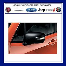New Genuine Jeep Renegade 2015/-  Set Of 2 Mirror Caps. Matt Black 71807404