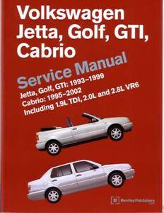 1993 2002 2001 vw cabrio golf jetta gti shop service. Black Bedroom Furniture Sets. Home Design Ideas