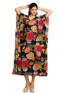 Beach-Cover-Up-Kaftan-Boho-Hippy-New-Indian-Plus-Size-Women-Dress-Caftan-Tunic