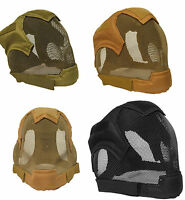 Airsoft Quality Full Face Fencing Mask Bb Gun Ear Mesh Mask Protection Mask Ma19