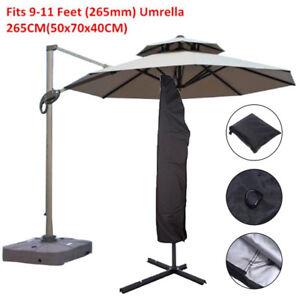Parasol-Banana-Parapluie-Housse-Cantilever-Exterieur-Jardin-Patio-Bouclier-etanche