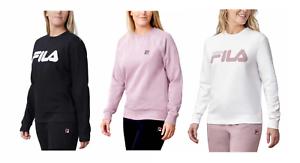 Fila-Women-039-s-Ladies-039-French-Terry-Crewneck-Sweatshirt-Choose-Color-Size-XS-XXL