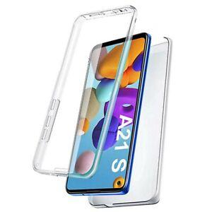 Coque 360 degrés Full cover avant arrière pour Samsung Galaxy A21S