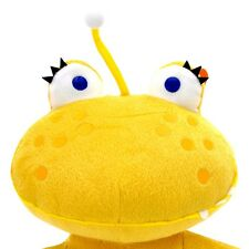 NEW! FAO Schwarz 15 inch (Not So) Scary Monster Polly Yellow Jolly Monster! RARE