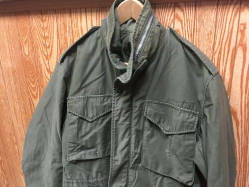Vintage 1967 Alpha Industries M-65 Field Coat Men'