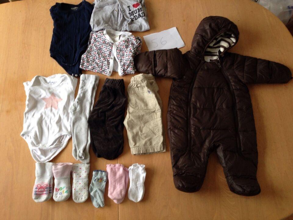 Blandet tøj, str. findes i flere str.