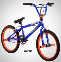 Mongoose 20 Boy's Bike Bmx Booster Blue Orange Black on sale