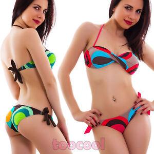 Bikini-costume-moda-mare-CORALLO-o-VERDE-fascia-incrociata-donna-due-pezzi-B1533