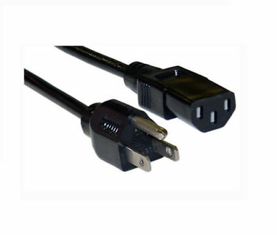 New Electric POWER Cable Cord Wall Plug for ECOQUEST Vollara Fresh Air Purifier