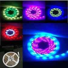 Festival de vapor Rally Luces alimentado por batería 5M LED Iluminación De Tira Digital