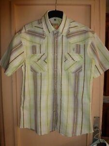 chemise   Cerrer 100 %  coton manches courtes  taille 4 ou 41/42
