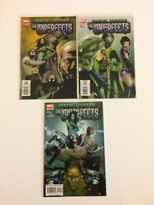 Lot-of-3-Marvel-Nemesis-The-Imperfects-1-2-3-Marvel-Comics-2005-VF-NM