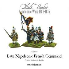 Warlord Black Powder BNIB Late Napoleonic French Command (6 Figs) WGN-303012001