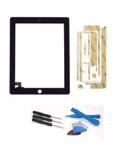 Apple-iPad-2-ecran-tactile-numeriseur-verre-A1396-Noir-set-d-039-outils-Colle