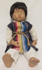 Danbury Mint PABLO Porcelain Mexican Boy Doll Sleeping by Nancy Leslie Collector