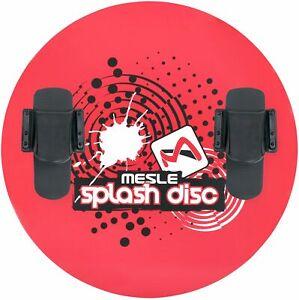 MESLE Teller Splash Disc 74 mit B20 Bindung, Wasserski Scheibe, rot
