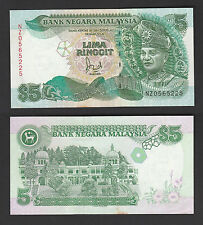 Malaysia 5 Ringgit (1991) Replacement NZ * P28c, TDRL - UNC Minor Foxing