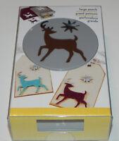 Ek Success Large Paper Punch - Elegant Deer (htf Christmas Reindeer Star Punch)
