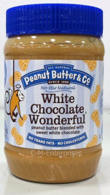 Peanut Butter & Co White Chocolate Wonderful 16 oz