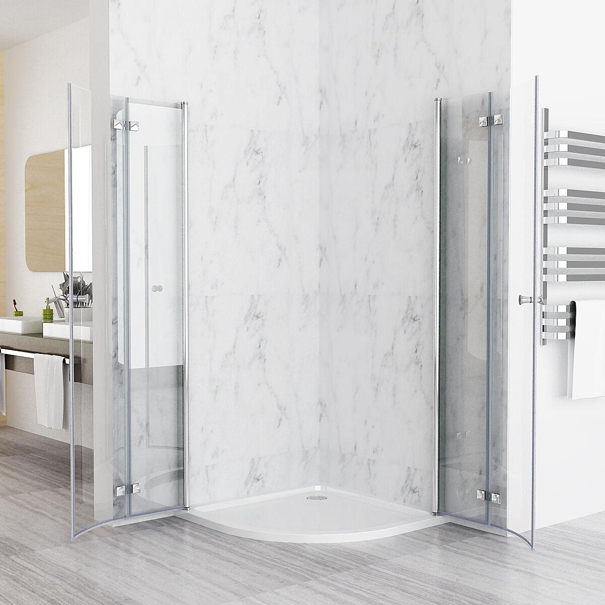duschkabine runddusche 180 schwingt r dusche viertelkreis. Black Bedroom Furniture Sets. Home Design Ideas