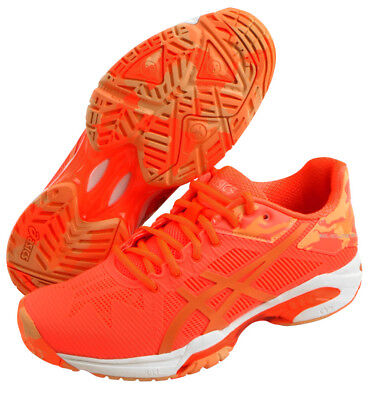 ASICS GEL Solution Speed 3 L.E. Women's Tennis Shoes Orange Racket  E853N-0630 | eBay