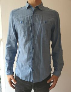 H&M Hemd Freizeithemd Sommerhemd Gr. M aus 100% Baumwolle gebraucht