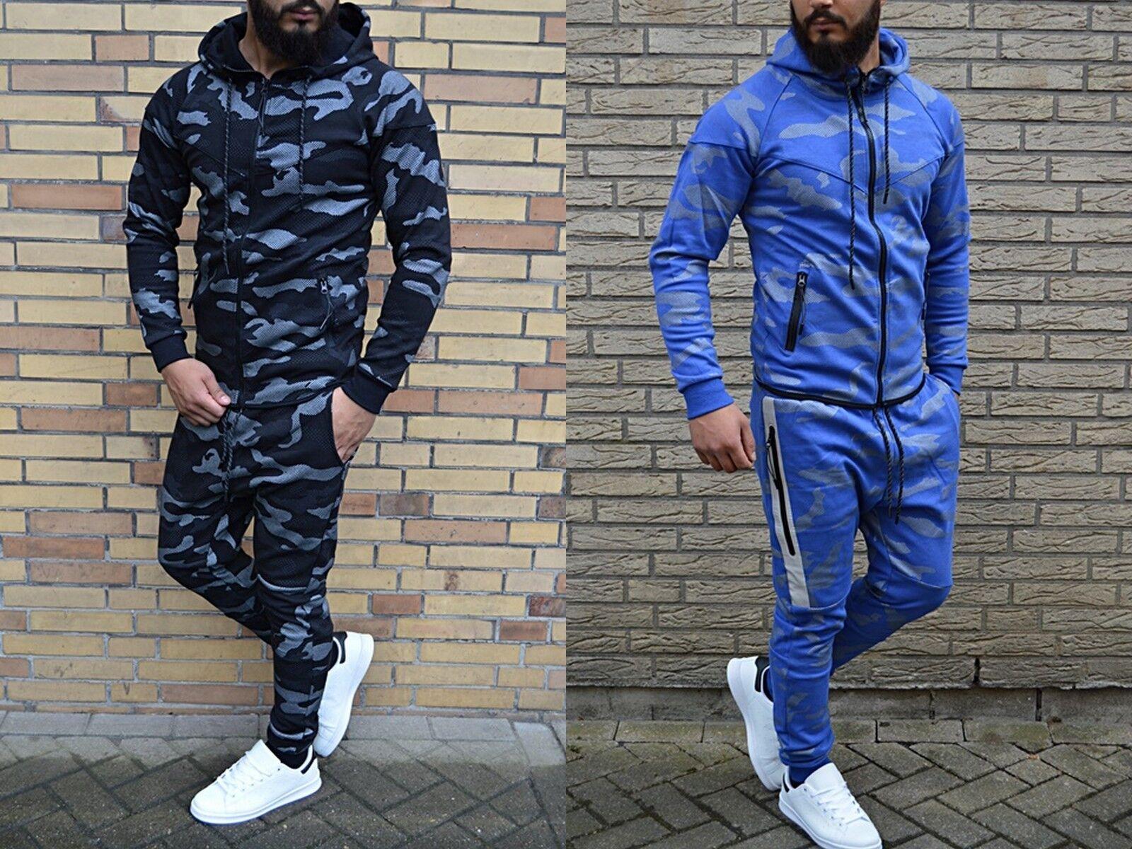 Camouflage Army Jogger Body FitnessSport STREETWEAR Boxing Training/Jogginganzug