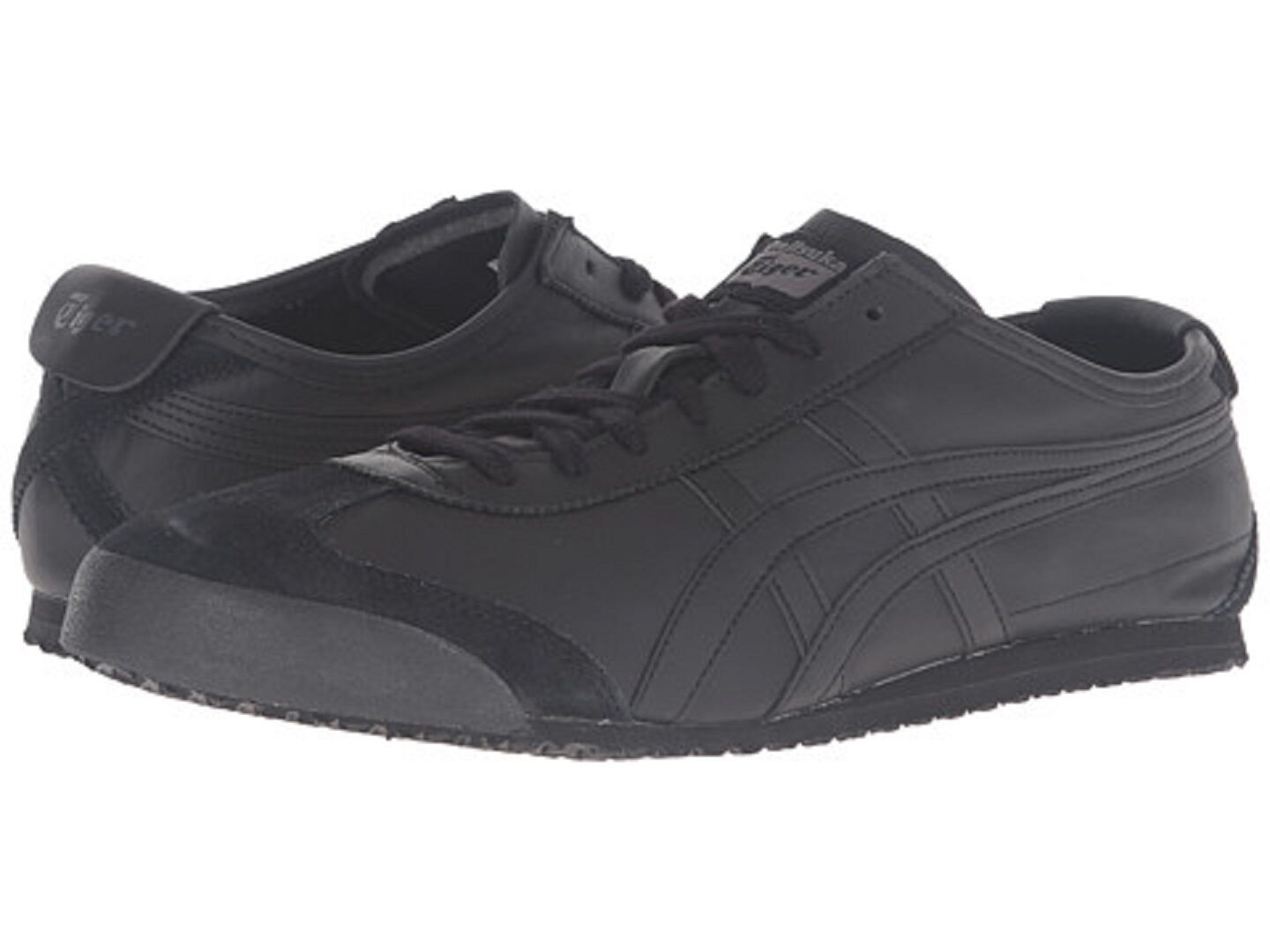 ONITSUKA TIGER D4J2L.9090 MEXICO 66 Mn's (M) Black Leather Suede Lifestyle shoes
