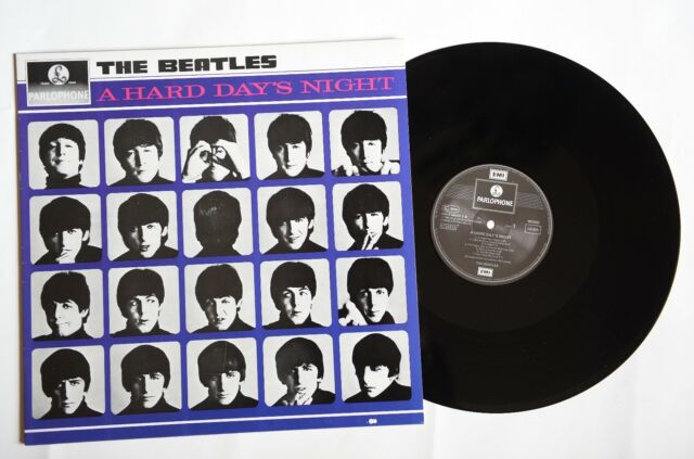 The Beatles ‎– A Hard Day's Night  - LP - EU - RE - Parlophone ‎– 064-7 46437 1