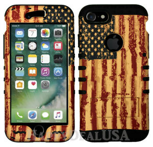 American-Flag-Hard-Cover-ShockProof-ARMOR-Hybrid-Case-for-Apple-Samsung-Phone