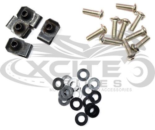 stainless steel Fairing bolts kit Yamaha FZR600 89-99 FZR400 88-89  #BT186#
