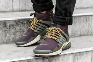 5058908661d5 Image is loading Men-039-s-Nike-Presto-Utility-Mid-Sneakers-