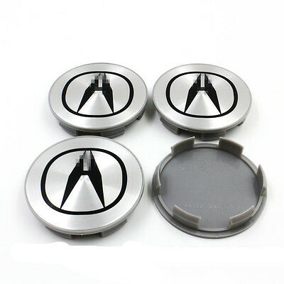 4 PCS Car Wheel Rim Center Centre Hub Caps Emblem Badge Logo 69mm for ACURA