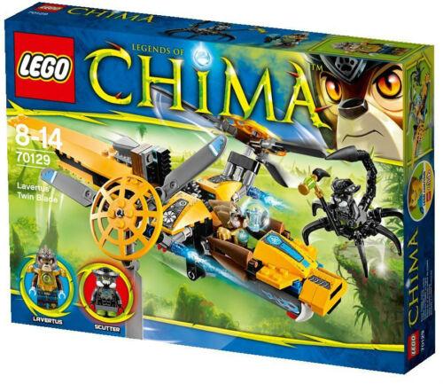 LEGO Chima 70129 Lavertus/' Twin Blade With 2 Mini Figure