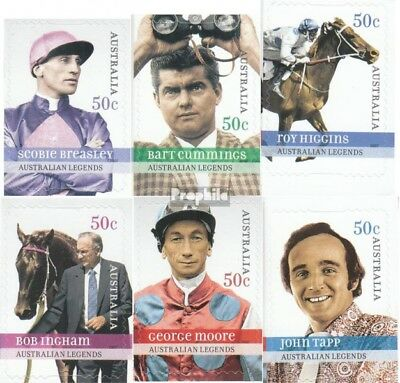 Australia 2767-2772 Unmounted Mint complete.issue. Never Hinged 2007 Legends Cool In Summer And Warm In Winter