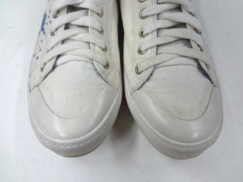 bianche 12 sportive Mens Taglia Canvas Sneakers Scarpe casual Lacoste t8ZAqwxx