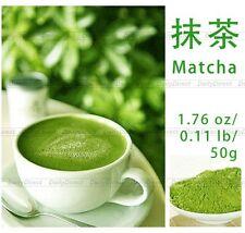 100% Pure Organic Natural Matcha Green Tea Powder bag 1.76oz/50g